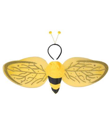 ailes de déguisement, ailes pour se déguiser, ailes d'abeille Ailes d'Abeille