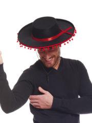 chapeau espagnol, chapeau de torero, accessoire déguisement espagnol Chapeau Espagnol et Mexicain