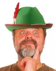 chapeau bavarois, chapeaux tyroliens, accessoires déguisement bavarois, chapeaux tyrol, chapeaux paris Chapeau de Bavarois, Tyrolien, Vert