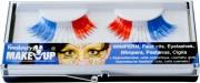 faux cils france, maquillage france, accessoires euro 2016, boutique supporters, drapeaux france, maquillage tricolore Faux Cils Tricolores