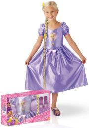 déguisement disney, déguisement raiponce pour enfant, costume de raiponce, déguisement de raiponce pour fille, déguisement princesse disney pour fille Déguisement de Raiponce, Luxe, Fille