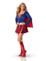 déguisement supergirl adulte, déguisement super héros femme, costume super héros femme, déguisement super héros adulte, déguisement super héros femme Déguisement Supergirl
