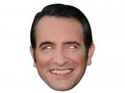 masque de jean dujardin, masques personnalités, masques politiques, masques célébrités, masque de déguisement, masque réaliste, accessoire déguisement masque Masque Jean Dujardin