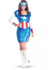 déguisement captain america femme, déguisement super héros adulte, déguisement captain america femme, costume super héros femme, déguisement super héros femme, costume super héros adulte Déguisement Captain America™