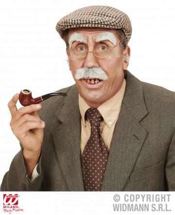 fausses moustaches postiche moustache postiche fausses moustaches ralistes fausse moustache de dguisement - Laque Colorante