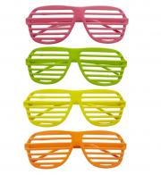 lunettes de déguisement, lunettes de fêtes, lunettes soirée déguisée, accessoires lunettes, lunettes pas chères,lunettes fantaisie, lunettes fluos, lunettes stores, lunettes stores fluos Lunettes Couleurs Fluos, Stores