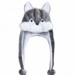 chapeau de loup, chapeaux d'animaux, coiffes d'animaux, déguisement de loups, accessoires déguisements, chapeau humour Chapeau de Loup
