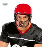 casque de footballeur américain, accessoires déguisements footballeur américain, accessoires déguisements Casque de Footballeur Américain, Rouge ou Noir