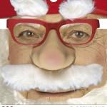 lunettes de déguisement, lunettes de fêtes, lunettes soirée déguisée, accessoires lunettes,lunettes fantaisie, lunettes pas chères, lunettes de père noel avec moustache Lunettes Nez Père Noël avec Moustache