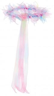 couronne de fleurs, couronne de fleurs, accessoire fée déguisement, accessoire déguisement fée, accessoire déguisement, accessoire couronne de fleurs Couronne de Fleurs Rainbow