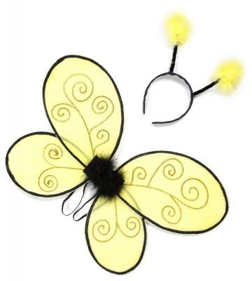 ailes de déguisement, ailes pour se déguiser, ailes d'abeille Ailes d'Abeille, Kid
