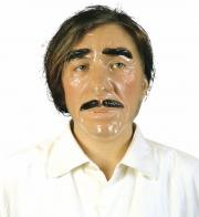 masque transparent, masque halloween, masque adulte original, masque visage adulte Masque Transparent, Homme