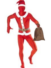 déguisement père noel second peau Déguisement Seconde Peau, Second Skin, Père Noël