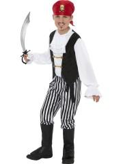 déguisement de pirate enfant, déguisement pirate garçon, costume pirate garçon, déguisements pour enfants Déguisement de Pirate, Black and White, Garçon