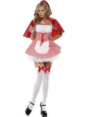 déguisement de chaperon rouge, costume chaperon rouge adulte, déguisement chaperon rouge femme, costume chaperon rouge femme, déguisement héros d'enfance Déguisement Chaperon Rouge, Sexy Red