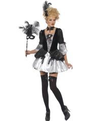 déguisement marquise baroque, déguisement de marquise baroque, déguisement de princesse, déguisement marquise, costume marquise femme, costume de marquise adulte, déguisement de marquise Déguisement Marquise Baroque Silver