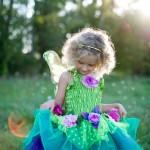 déguisement de fée fille, déguisement enfant, déguisement de princesse fille, déguisement de fée pour enfant Déguisement de Fée Fleurie, Vert, Fille