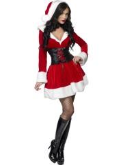 déguisement de mère noel, costume mère noel sexy, déguisement mère noël sexy, déguisement sexy noel, déguisement noel adulte, déguisement noel femme Déguisement Mère Noël, Miss Santa
