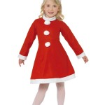 déguisement de père noel pour enfant Déguisement Mini Mère Noël, Fille