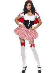 déguisement de chaperon rouge, costume chaperon rouge adulte, déguisement chaperon rouge femme, costume chaperon rouge femme, déguisement héros d'enfance Déguisement Chaperon Rouge Sexy
