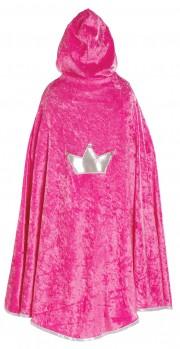 cape de princesse pour enfant, princesse fille Cape de Princesse Velours, Rose ou Lilas, Fille