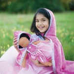cape de princesse fille, déguisement princesse fille, déguisements enfants Cape de Princesse, Diamant Rose, Fille
