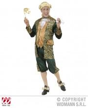 déguisement vénitien, costume vénitien, déguisement carnaval de venise, déguisement de marquis, costume de marquis déguisement, déguisement marquis adulte, déguisement marquis homme, déguisement baroque homme Déguisement Marquis, Vert et Or