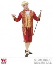 déguisement vénitien, costume vénitien, déguisement carnaval de venise, déguisement de marquis, costume de marquis déguisement, déguisement marquis adulte, déguisement marquis homme, déguisement baroque homme Déguisement Marquis, Rouge et Or