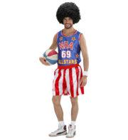 déguisement de basketteur américain, déguisement sportif adulte, costume de basket américain, costume NBA homme, déguisement NBA homme Déguisement Basketteur Américain