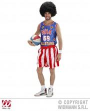 déguisement de basketteur américain, déguisement sportif adulte, costume de basket américain, costume NBA homme, déguisement NBA homme Déguisement Basketteur