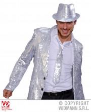 cravate sequins argent, cravate à paillettes, cravate déguisement, accessoire déguisement, accessoire disco, cravate disco, cravate paillettes argent Cravate Fine Paillettes Sequins, Argent