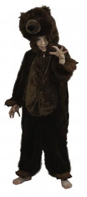 déguisement d'ours brun pour enfant, déguisement ours enfant, déguisement ours fille, déguisement ours garçon, déguisement animaux enfant Déguisement d'Ours Brun, Fille et Garçon