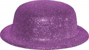 chapeaux melons, chapeaux paillettes, chapeau melon, chapeaux de fête, accessoires chapeaux melons Chapeau Melon à Paillettes, Fuchsia