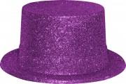 chapeaux paillettes, chapeaux hauts de forme paillettes, chapeaux hauts de forme, chapeau haut de forme, chapeaux paris, chapeaux hauts de forme Chapeau Haut de Forme à Paillettes, Fuchsia