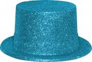 chapeaux paillettes, chapeaux hauts de forme paillettes, chapeaux hauts de forme, chapeau haut de forme, chapeaux paris, chapeaux hauts de forme Chapeau Haut de Forme à Paillettes, Turquoise