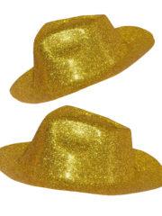 chapeau à paillettes, borsalino paillettes, chapeau pas cher Chapeau Borsalino Paillettes, Or