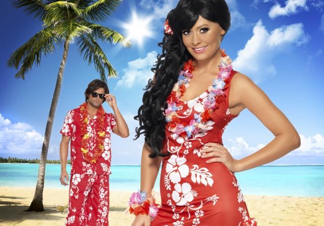 Soirée déguisement déco Hawaï