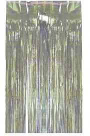 rideau de porte argent Rideau de Porte, Lamelles Argent