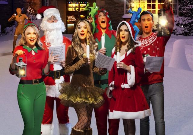 Soirée déguisement déco Déguisements Noël et Réveillon
