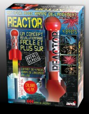 bombes mortier, reactor, feu d'artifice Reactor