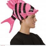 chapeau poisson, chapeaux humour, chapeaux animaux, déguisement de poisson, accessoires déguisement thème mer Chapeau Poisson