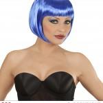 perruque femme, perruque pas cher paris, perruque bleue, perruque chanel Perruque Chanel, Bleue