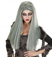 perruque zombie, perruque de zombie, cheveux gris, perruque pas cher, perruque de femme paris, perruque halloween, perruque de déguisement Perruque de Zombie, Grise