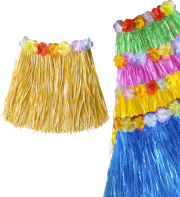 jupe hawaïenne, accessoire hawaïen, déguisement hawaïen, accessoire déguisement hawaï, jupe hawaï, jupe raphia hawaï, Jupe Hawaïenne, Raphia et Fleurs