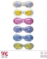 lunettes de déguisement, lunettes de fêtes, lunettes soirée déguisée, accessoires lunettes, lunettes pas chères,lunettes fantaisie, lunettes paillettes, lunettes à paillettes, lunettes pailletées Lunettes Paillettes Glitter Ovales