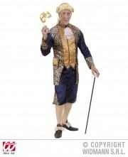 déguisement vénitien, costume vénitien, déguisement carnaval de venise, déguisement de marquis, costume de marquis déguisement, déguisement marquis adulte, déguisement marquis homme, déguisement baroque homme Déguisement Marquis, Bleu et Or
