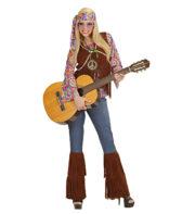 déguisement hippie femme, costume hippie femme, déguisement flower power femme, costume flower power femme, costume années 70 femme, déguisement années 70 femme, déguisement peace and love femme, costume femme hippie Déguisement Hippie Psychédélique, 70s