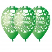 ballon saint patrick Ballon en Latex, Saint Patrick