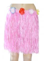 jupe hawaïenne, accessoire hawaïen, déguisement hawaïen, accessoire déguisement hawaï, jupe hawaï, jupe raphia hawaï, Jupe Hawaïenne, Raphia Rose