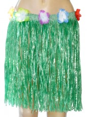 jupe hawaïenne, accessoire hawaïen, déguisement hawaïen, accessoire déguisement hawaï, jupe hawaï, jupe raphia hawaï, Jupe Hawaïenne, Raphia Vert
